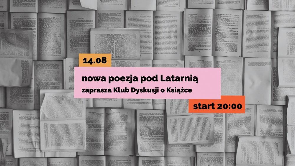 Nowa poezja pod Latarnią na Wenei