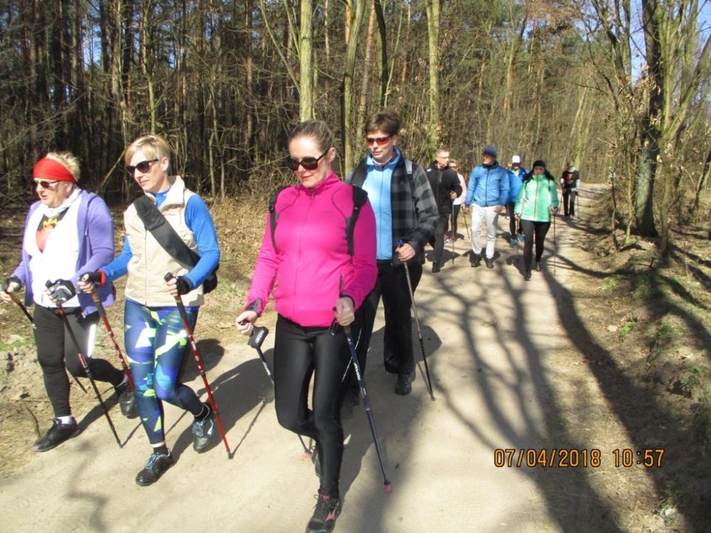 I Otwarty Marsz Nordic Walking na Dalkach
