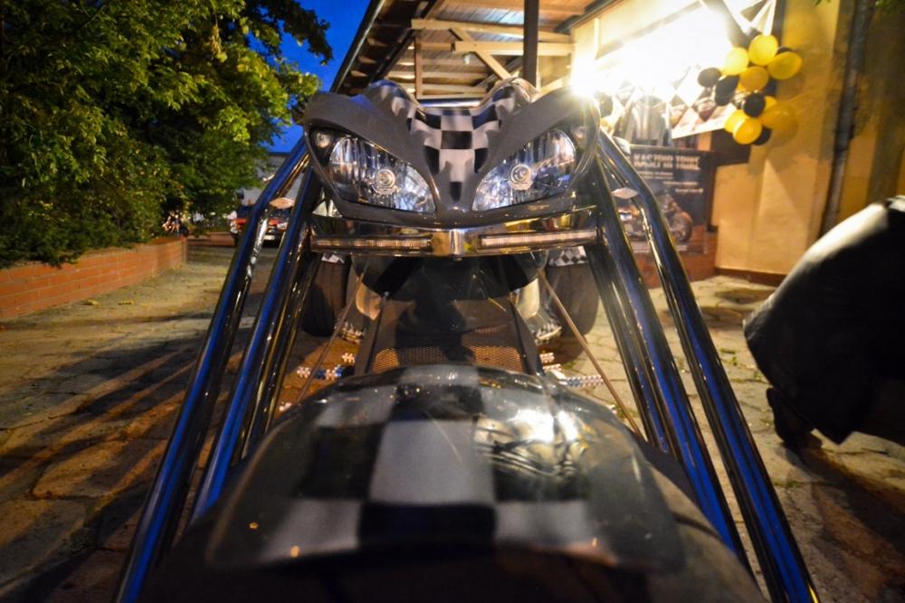 Już w sobotę losowanie unikatowego motocykla!
