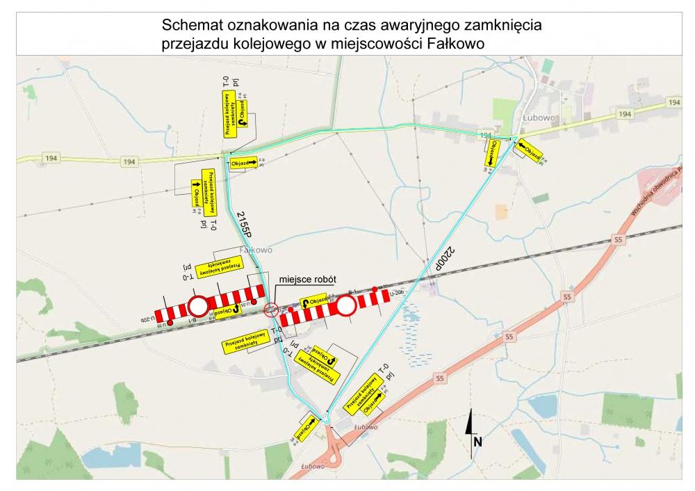 Nocne zamknięcie przejazdów kolejowych