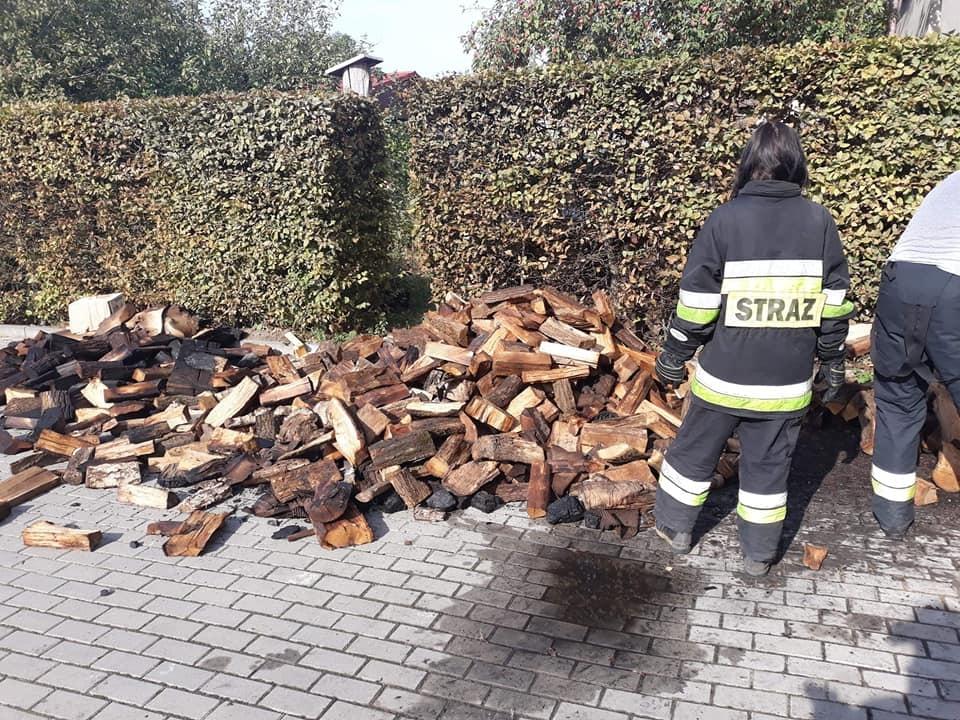 Pożar w Piekarach