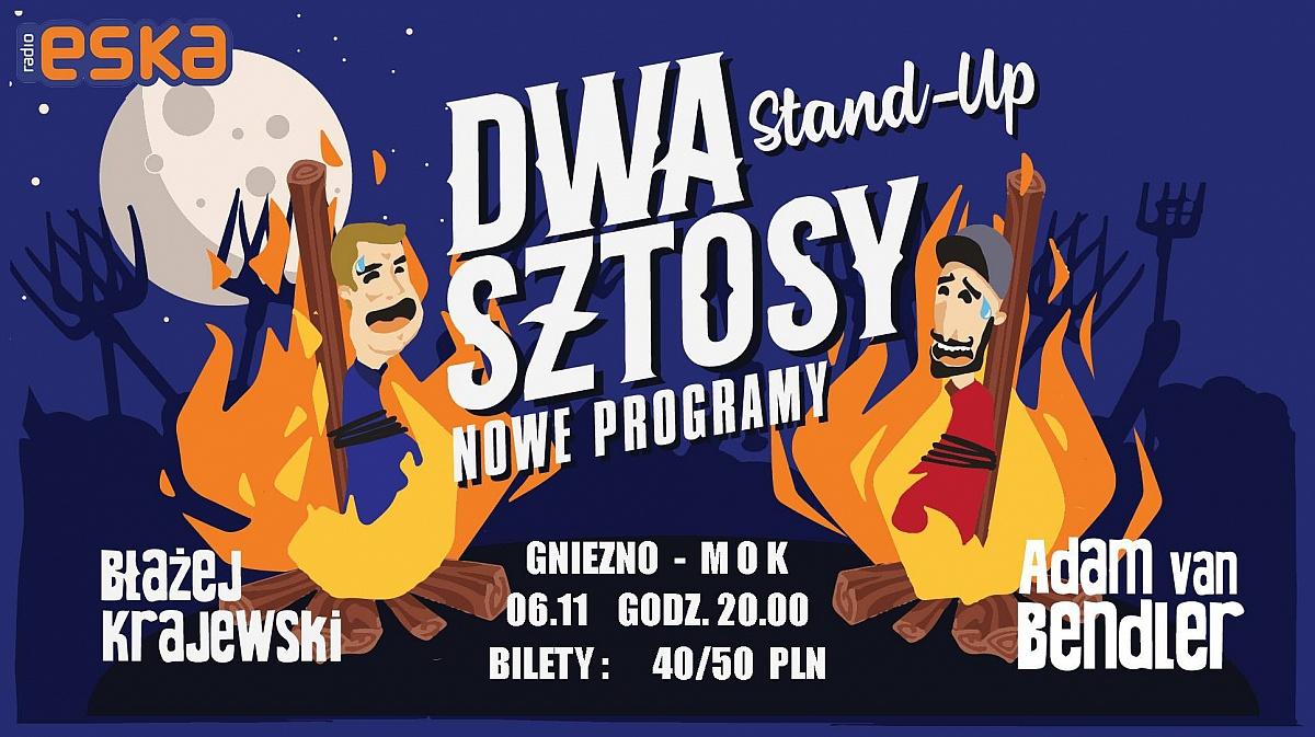 Stand-up Dwa Sztosy Adam Van Bendler i Błażej Krajewski w Gnieźnie