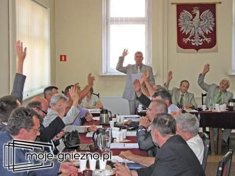 Sesja Rady Miejskiej w Witkowie