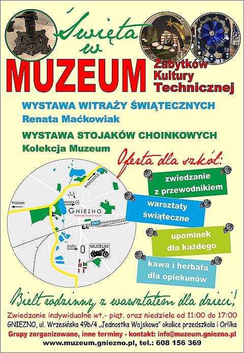 Muzeum Zabytków Kultury Technicznej zaprasza na świąteczną wystawę