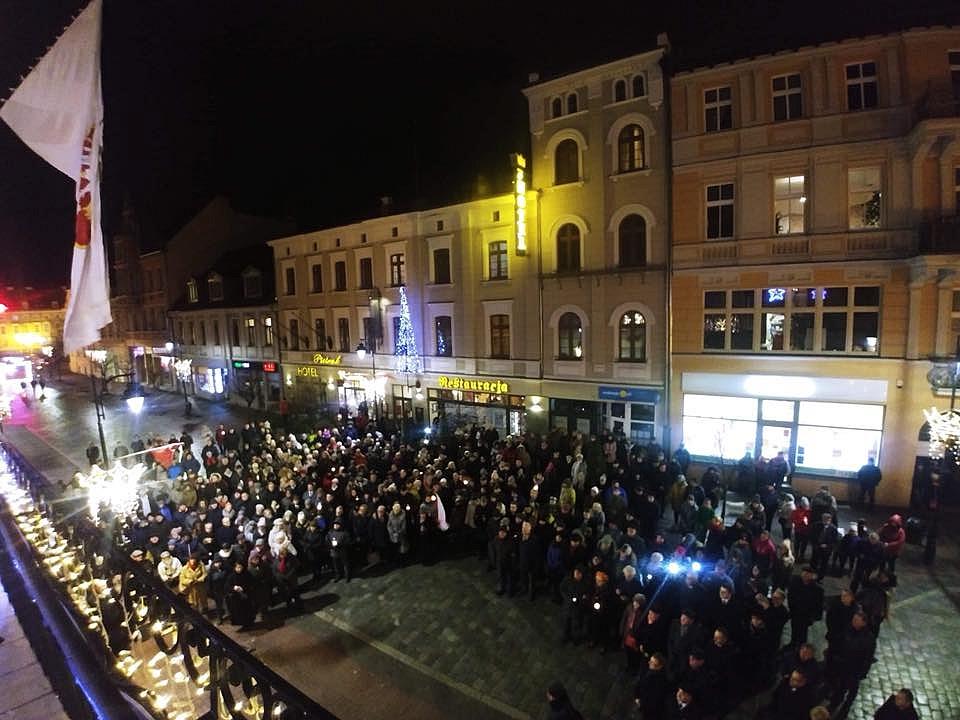 Gniezno uczciło pamięć tragicznie zmarłego prezydenta Gdańska