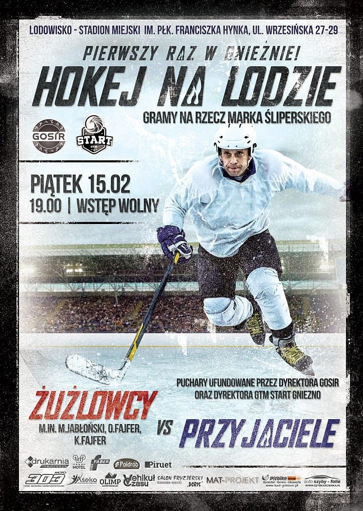 Charytatywne spotkanie w hokeja już 15 lutego!