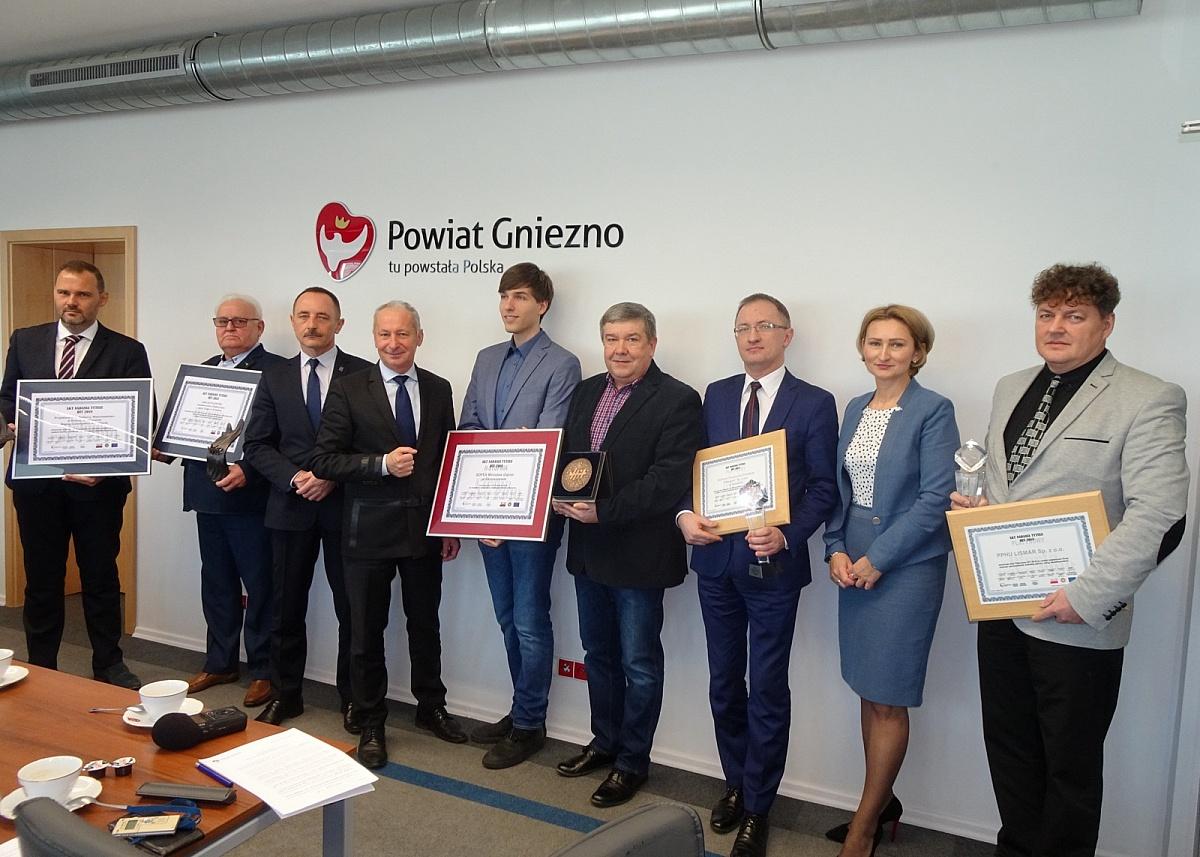 Firmy z powiatu gnieźnieńskiego HIT'ami 2018