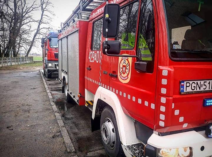 Pożar w Kosmowie! Domownicy zareagowali szybko i sprawnie