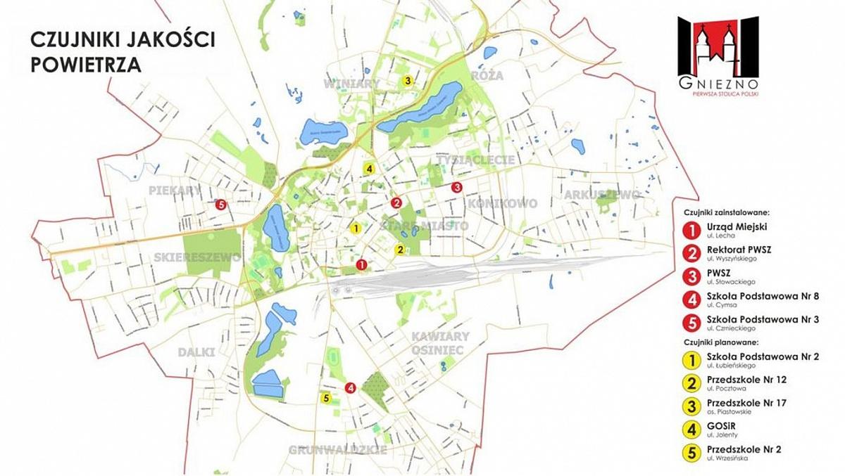 Dodatkowe czujniki powietrza już wkrótce w centrum miasta