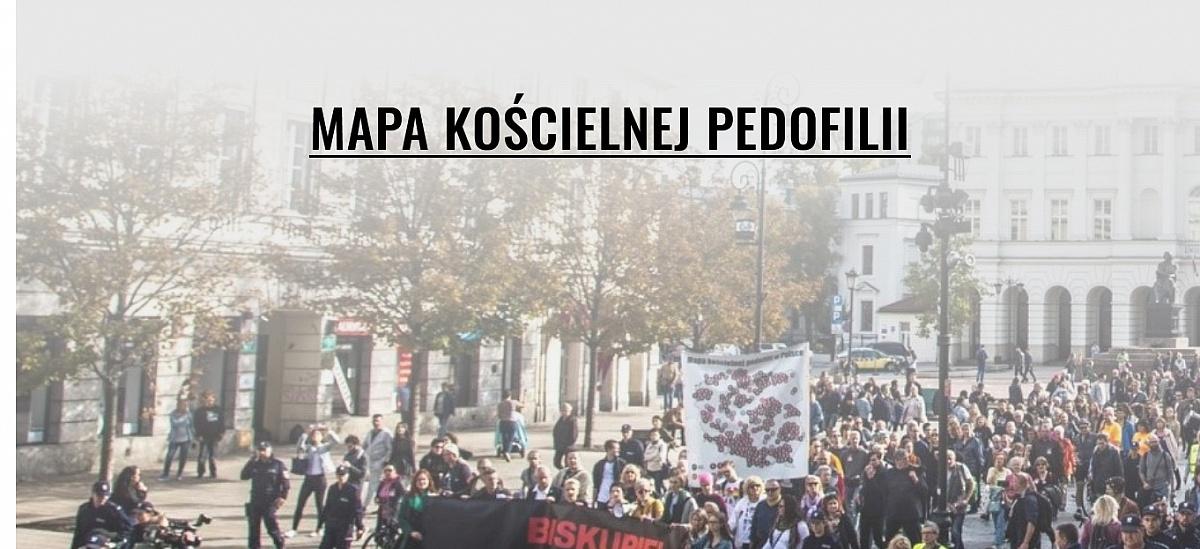 Mapa kościelnej pedofilii! Zobaczcie jak sytuacja wygląda w Gnieźnie