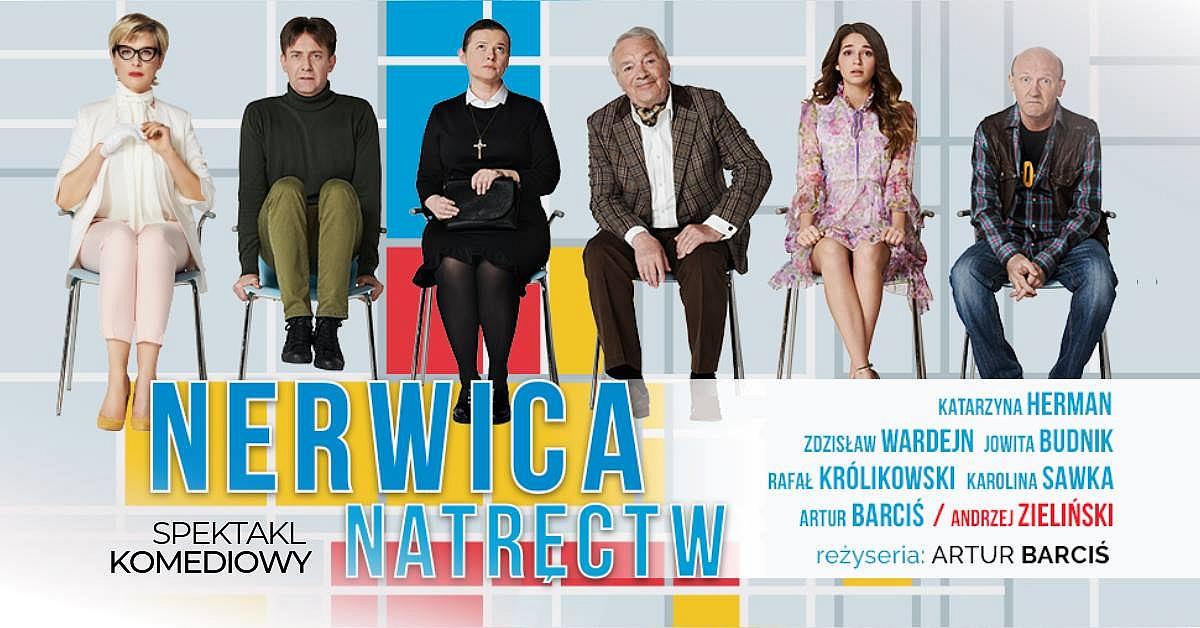 Nerwica natręctw - spektakl komediowy, laureat polskich festiwali teatralnych w 2018 roku!