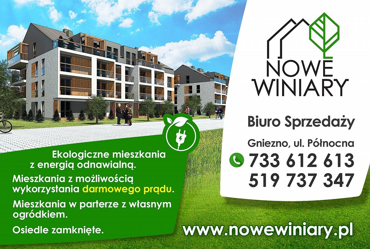 Nowe Winiary - pierwsze osiedle zasilane energią odnawialną! Darmowy prąd dla mieszkańców!