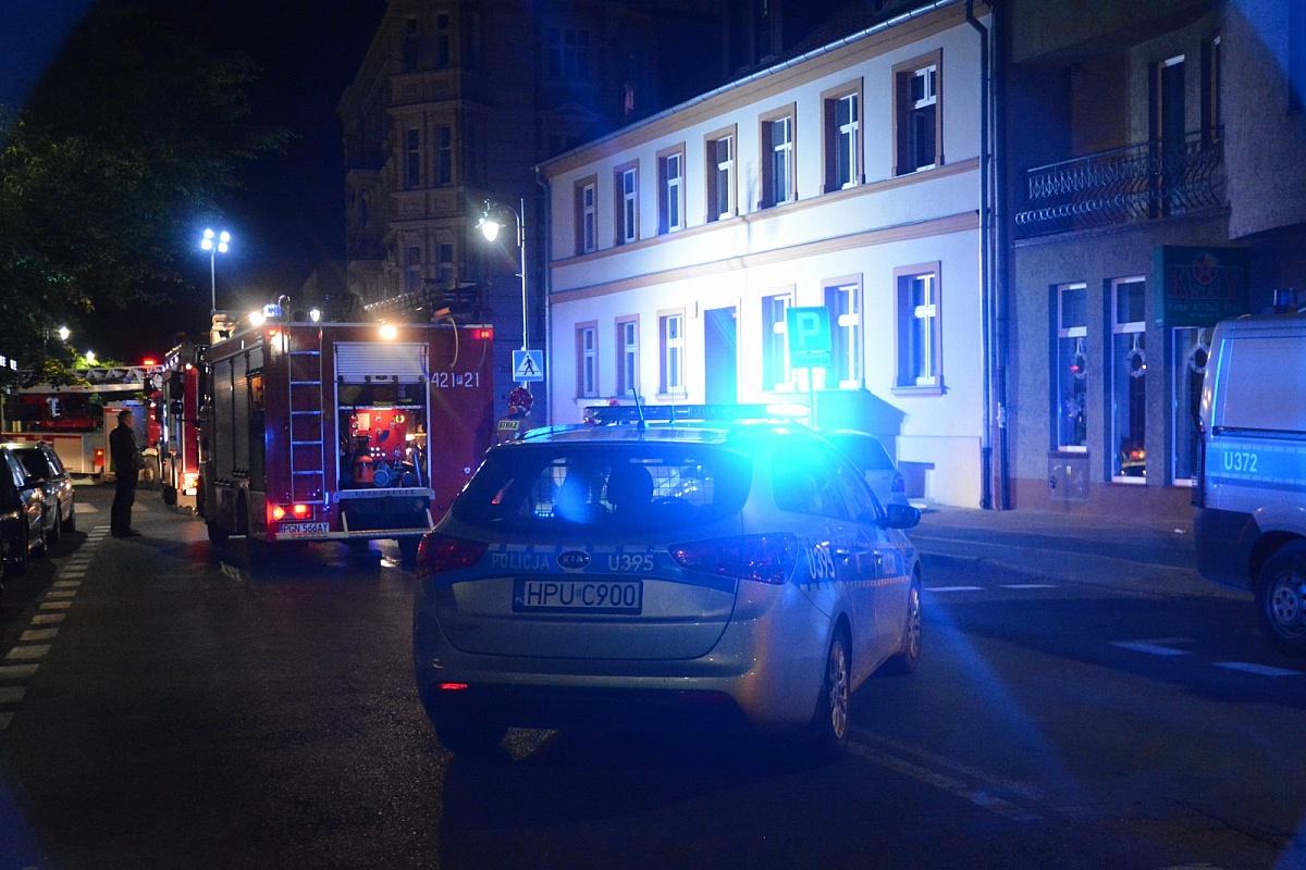 Nocny pożar w centrum Gniezna!