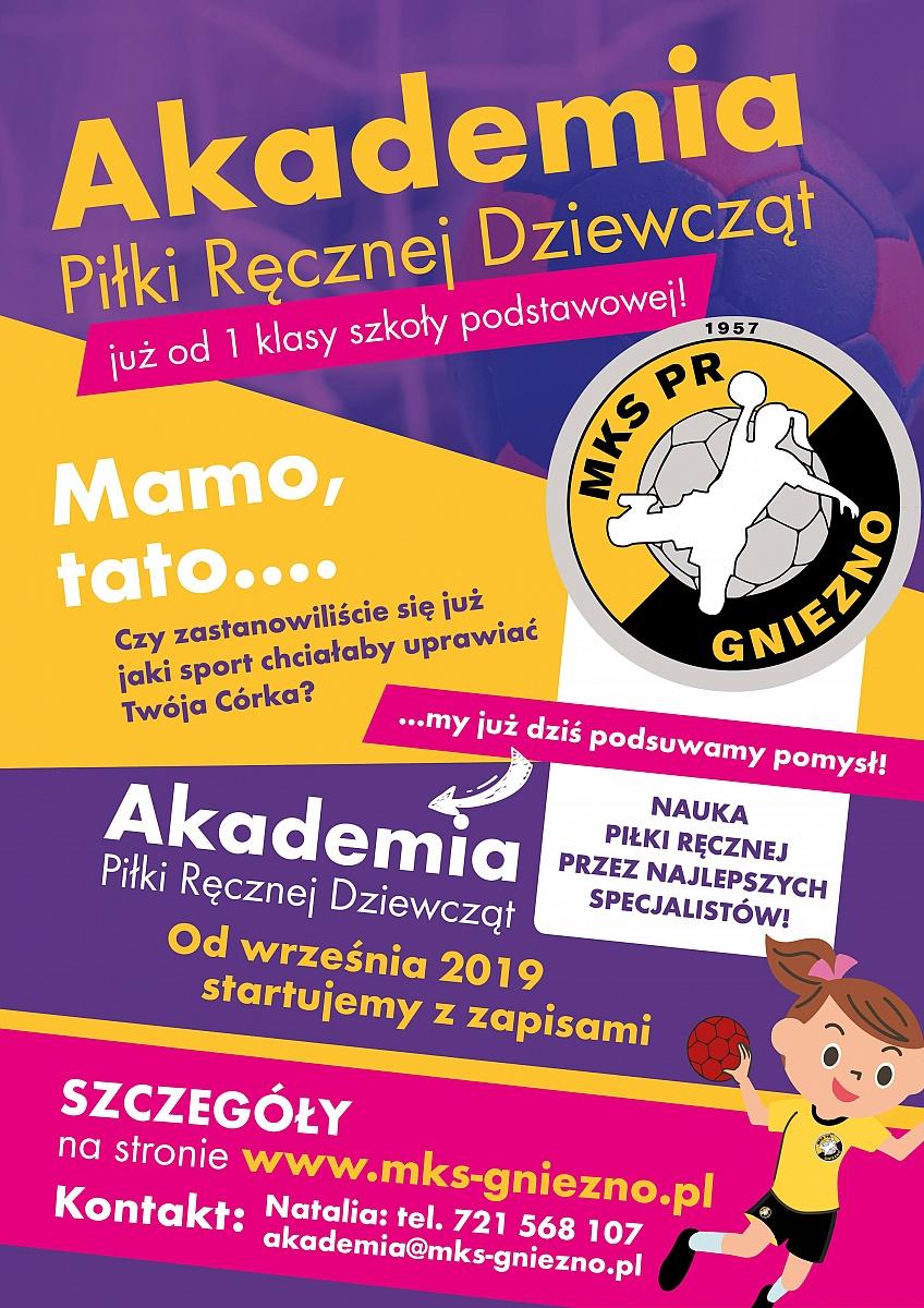Od września startuje Akademia MKS PR Gniezno!