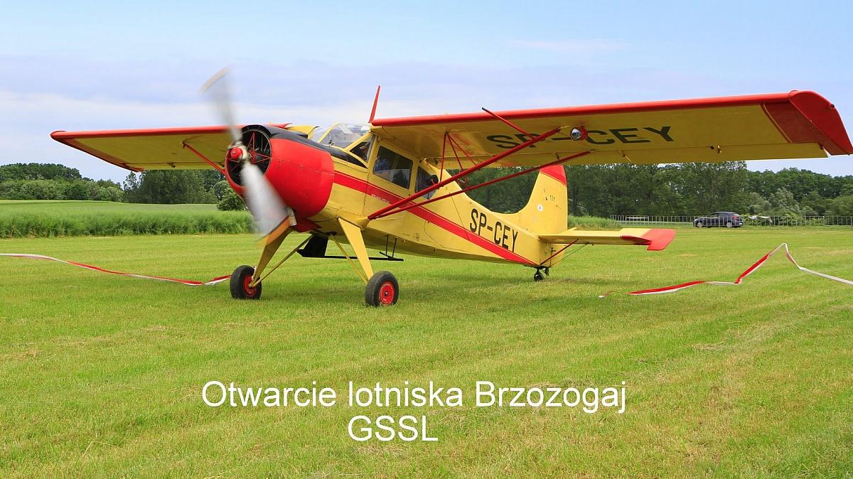 X-lecie Gnieźnieńskiego Stowarzyszenia Sportów Lotniczych i otwarcie lądowiska za nami!