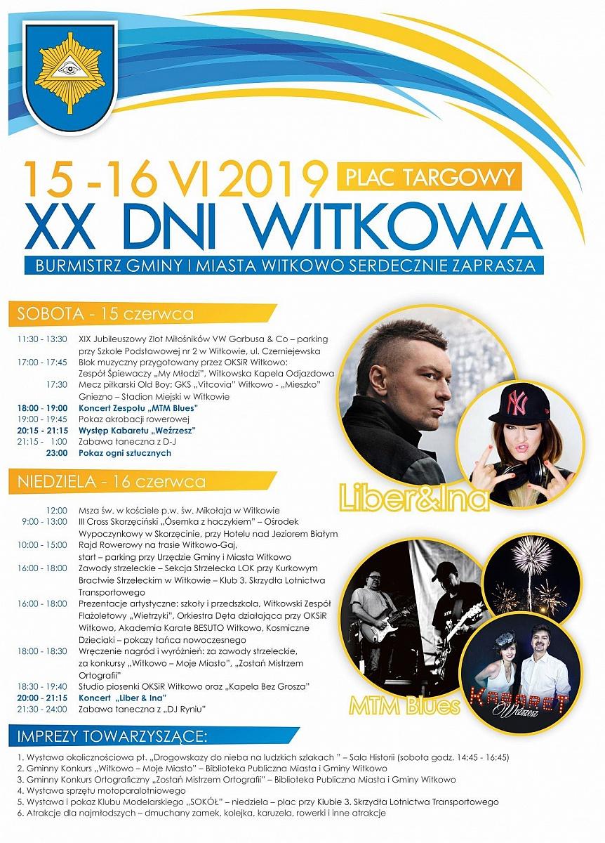 Koncert Liber & Ina już w niedzielę w Witkowie