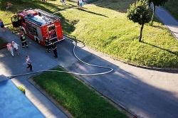 Kolejna spalona kolacja powodem interwencji strażaków