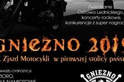 IX Zjazd Motocykli w Pierwszej Stolicy Państwa na zakończenie wakacji