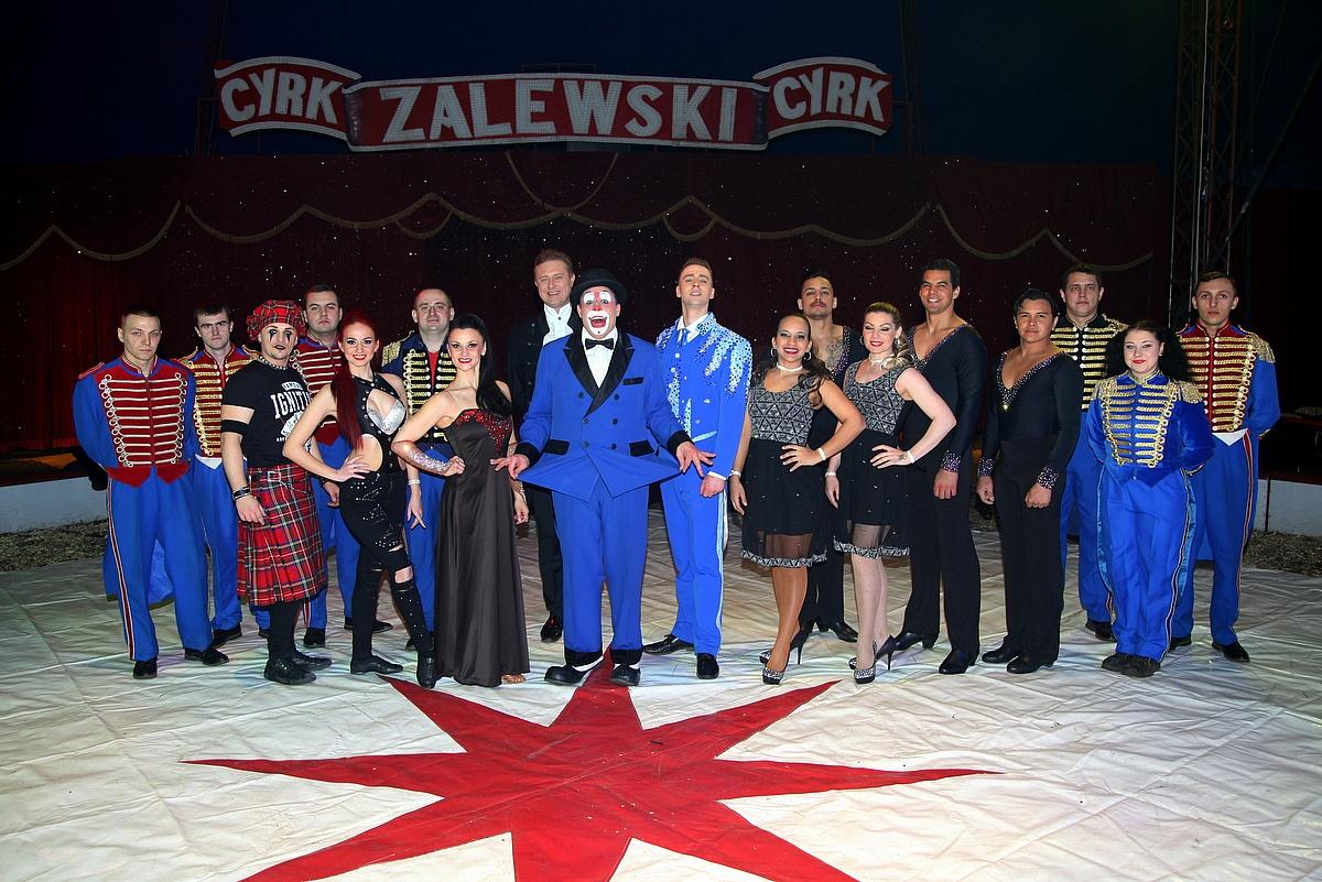 Międzynarodowy Cyrk Zalewski wystąpi w Gnieźnie!