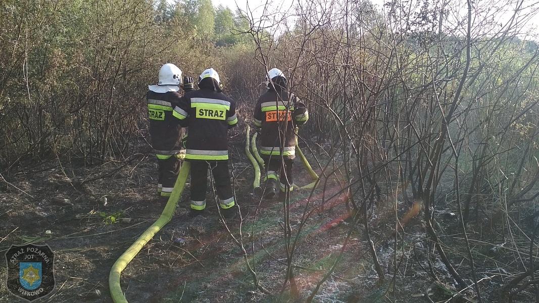 Strażak wypoczywał z rodziną nad jeziorem - zauważył pożar