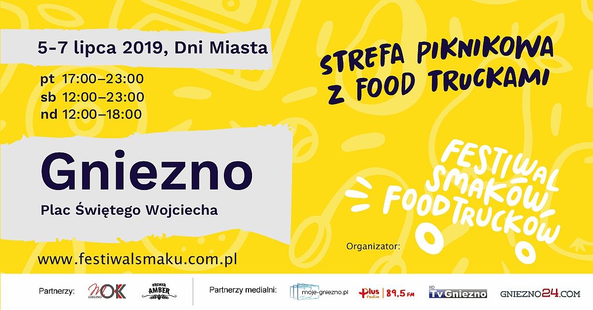 Strefa Piknikowa z food truckami - jemy i bawimy się w wakacyjny weekend w Gnieźnie!