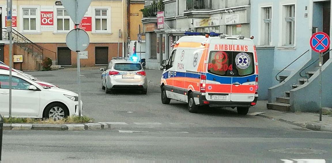 Jedna osoba w szpitalu, jedna zatrzymana - wynik bójki w centrum Gniezna
