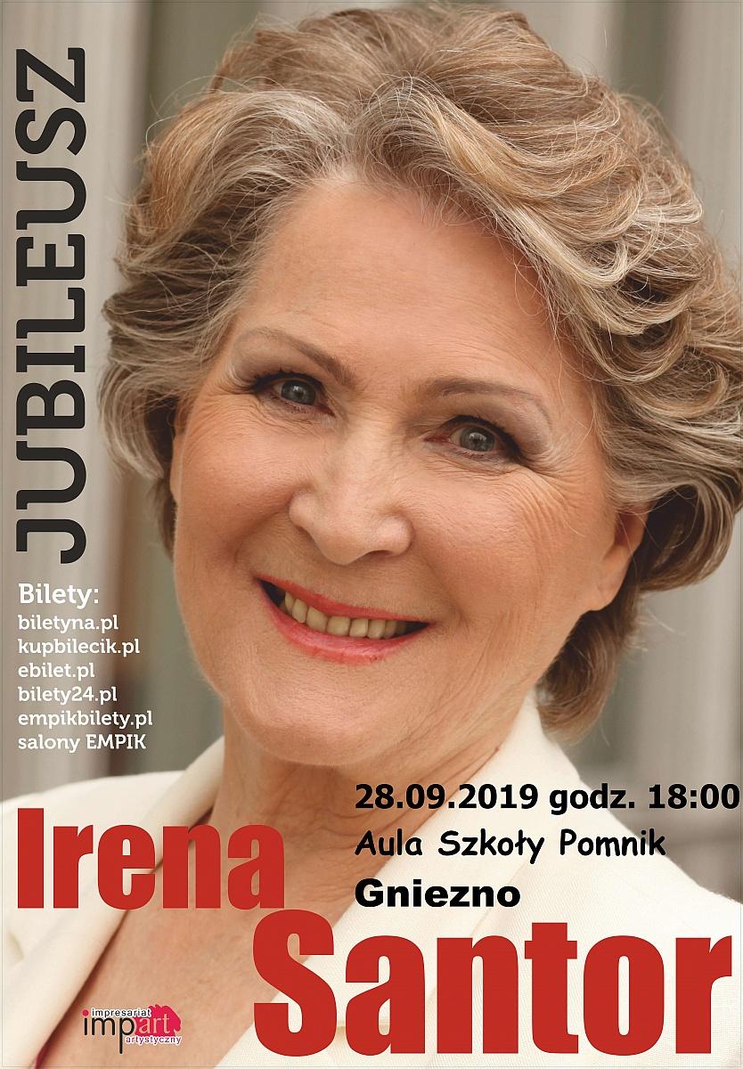 Irena Santor - jubileusz. Śpiewam, czyli jestem