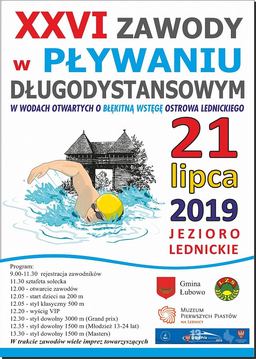 XXVI Zawody w Pływaniu Długodystansowym w Wodach Otwartych o Błękitną Wstęgę Ostrowa Lednickiego