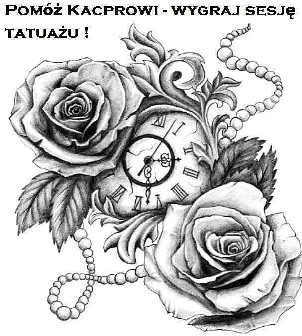 Pomóż Kacprowi i wygraj 4-godzinną sesję tatuażu wartą 400 zł!