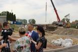Prace Pod Trzema Mostami zgodnie z planem