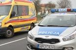 Policjanci na sygnale wieźli kobietę do porodu