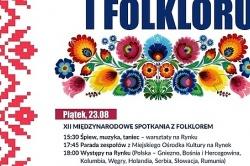 Folklor i taniec na przedostatni weekend KFA