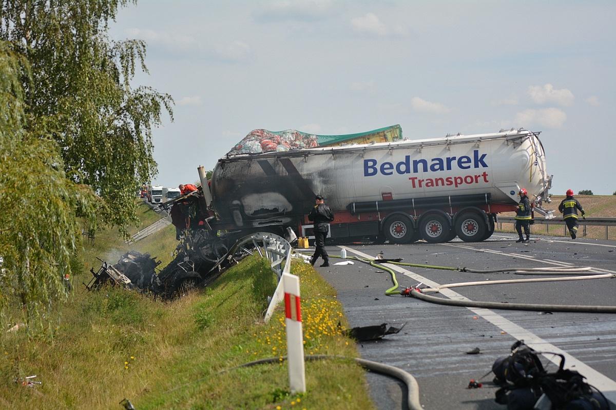 Kierowca osobówki sprawcą wczorajszego wypadku na drodze krajowej nr 15