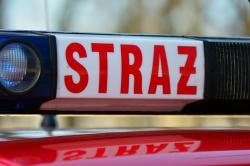 Kolejny pożar w Skorzęcinie! Tym razem w ogniu stanął samochód osobowy