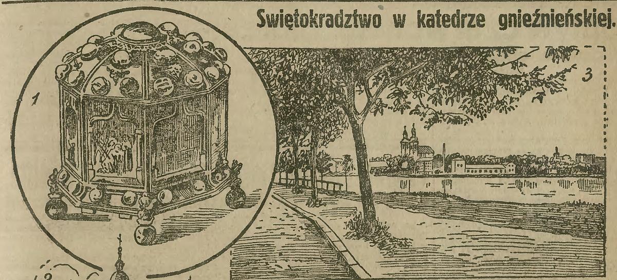 Ksiądz Laubitz sprawcą kradzieży relikwii Św. Wojciecha z katedralnego skarbca?
