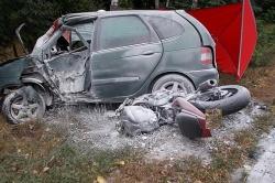 Poszukiwani świadkowie tragicznego wypadku z udziałem motocyklisty