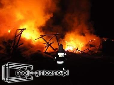 Pożar stodoły w Czerniejewie