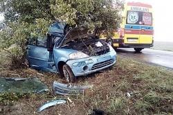 Wypadek w Skorzęcinie