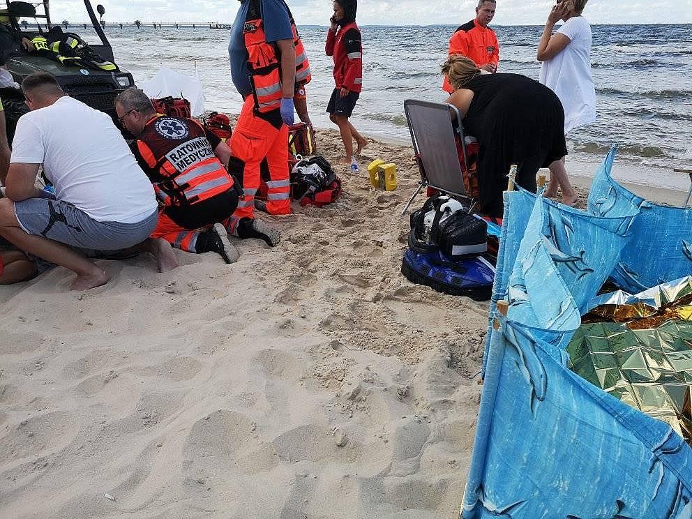 2 września w Bałtyku utonęło dwóch mężczyzn. Na pomoc ruszyła m.in. pielęgniarka z Gniezna