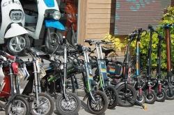 Hulajnogi elektryczne czy zastąpią tradycyjne rowery?