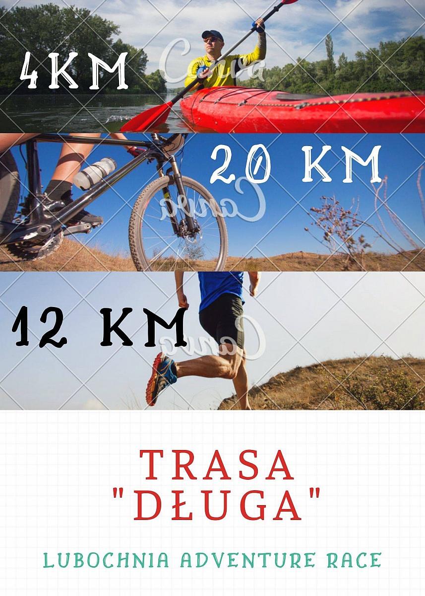 Zawody sportowe Lubochnia Adventure Race - triathlon