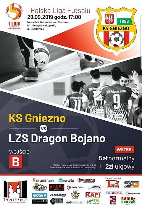 KS Gniezno - LZS Dragon Bojano już w sobotę