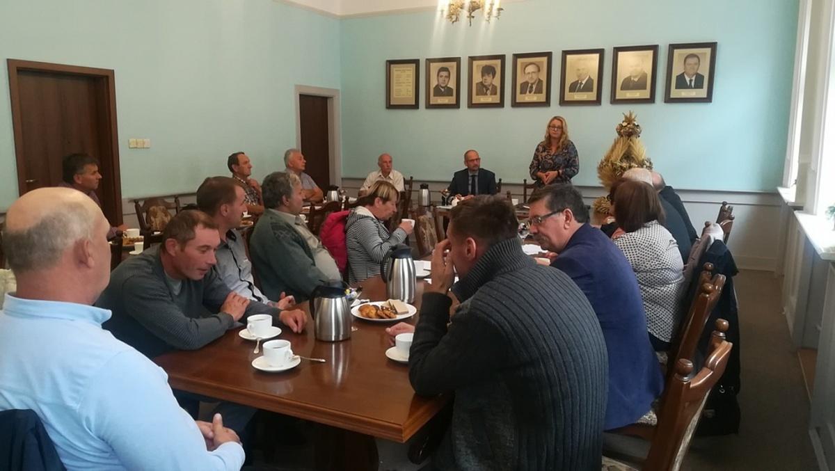 Spotkanie z rolnikami z terenu miasta Gniezna