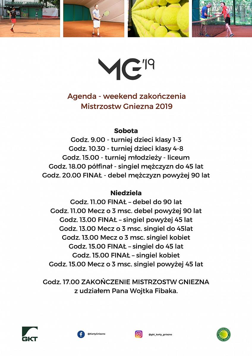Trwa weekend zakończenia Mistrzostw Gniezna!