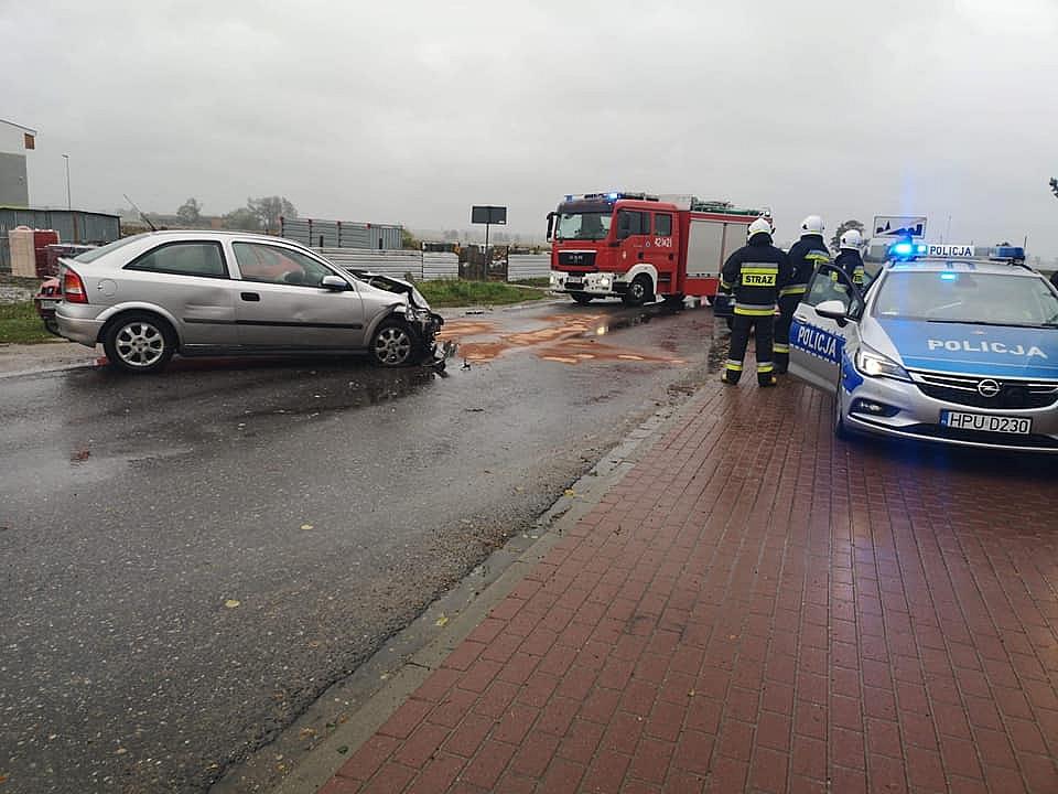 Wypadek w Zdziechowie