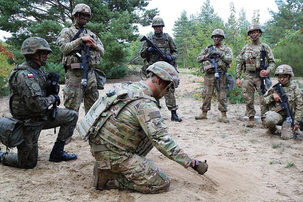 Wielkopolscy Terytorialsi ćwiczyli z wojskami USA