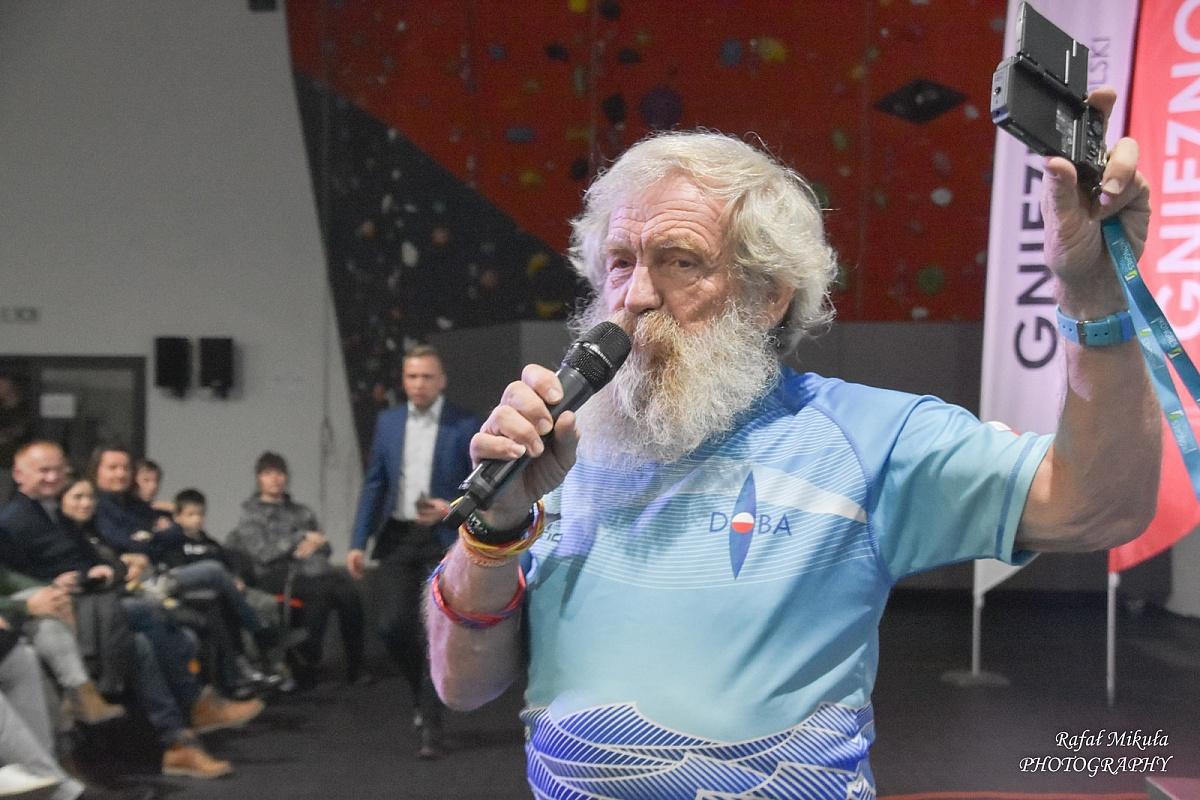 Aleksander Doba odwiedził Gniezno i opowiedział o swoich wyprawach