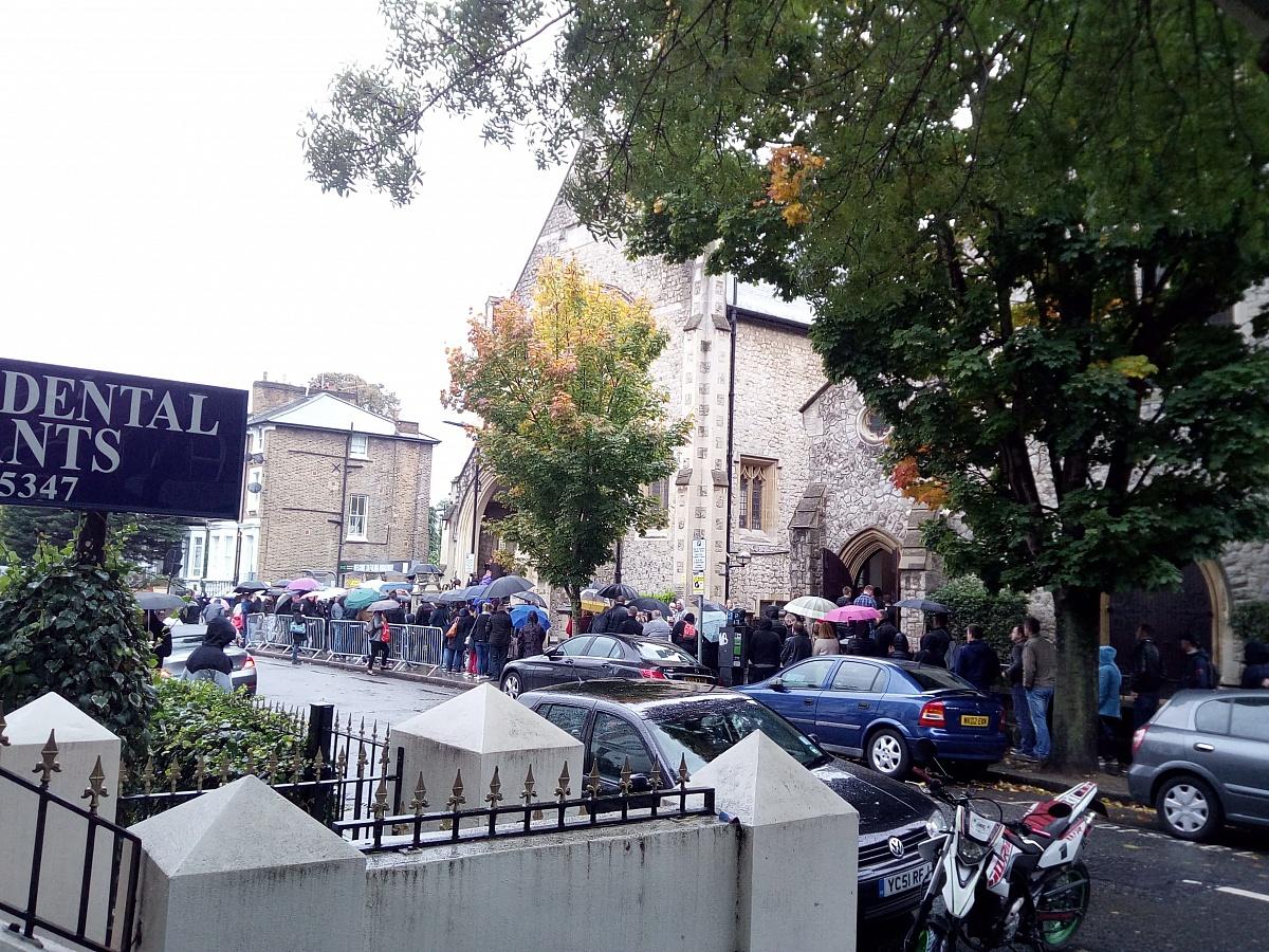 Gnieźnianie głosowali w Londynie