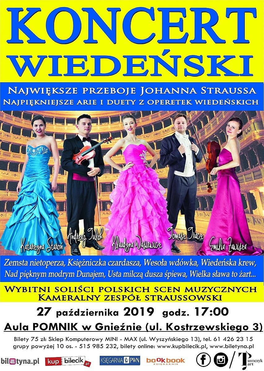 Koncert Wiedeński już 27 października