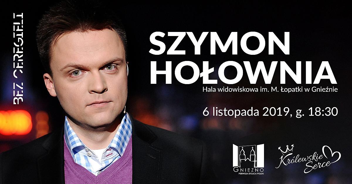 Szymon Hołownia przyjedzie do Gniezna!